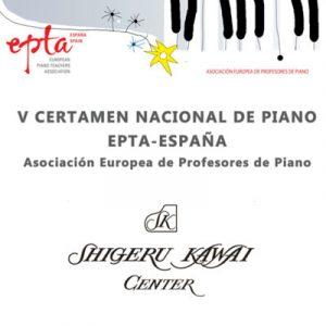 EPTA V certamen nacional de piano