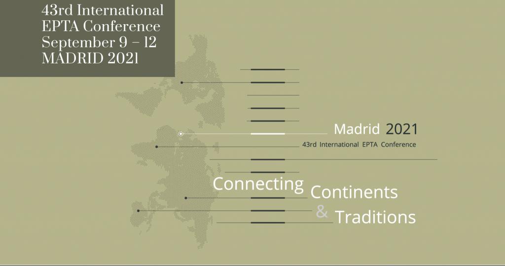ACCESO Y ENTRADAS A CONFERENCIAS Y EVENTOS DE LA 43 CONFERENCIA INTERNACIONAL EPTA «Connecting Continents & Traditions»